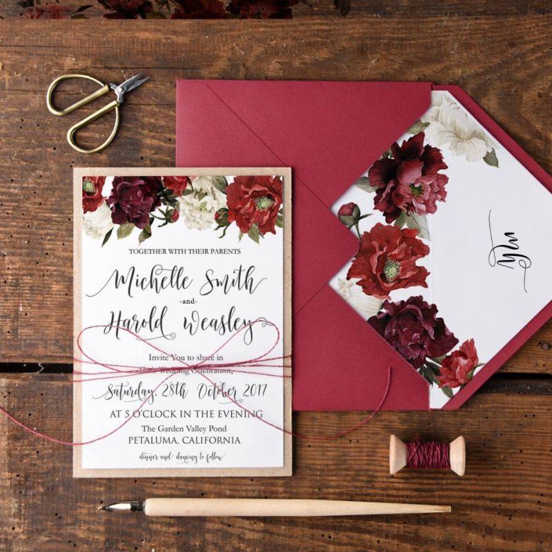 esküvői meghívó, Tervezd meg egyedi esküvői meghívód és hívd meg időben a násznépet