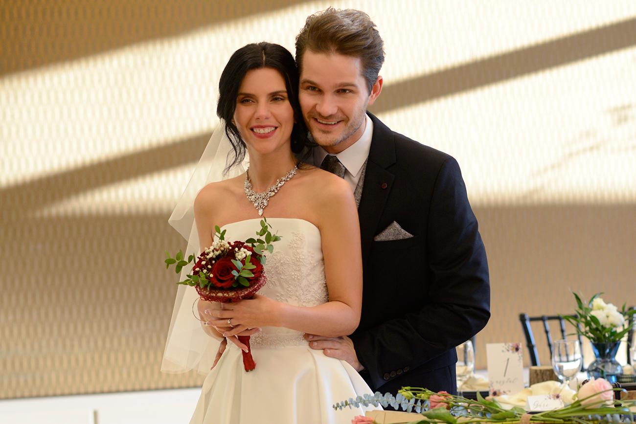 Klajkó Szandra és Veréb Tamás esküvő, esküvői videó