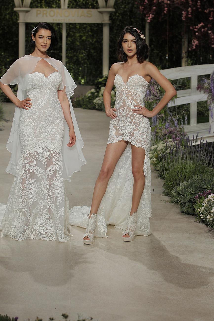nude menyasszonyi ruha, Szexi menyasszonyi ruhák a Pronoviastól – Meddig mehet el egy menyasszony a nagy napon?