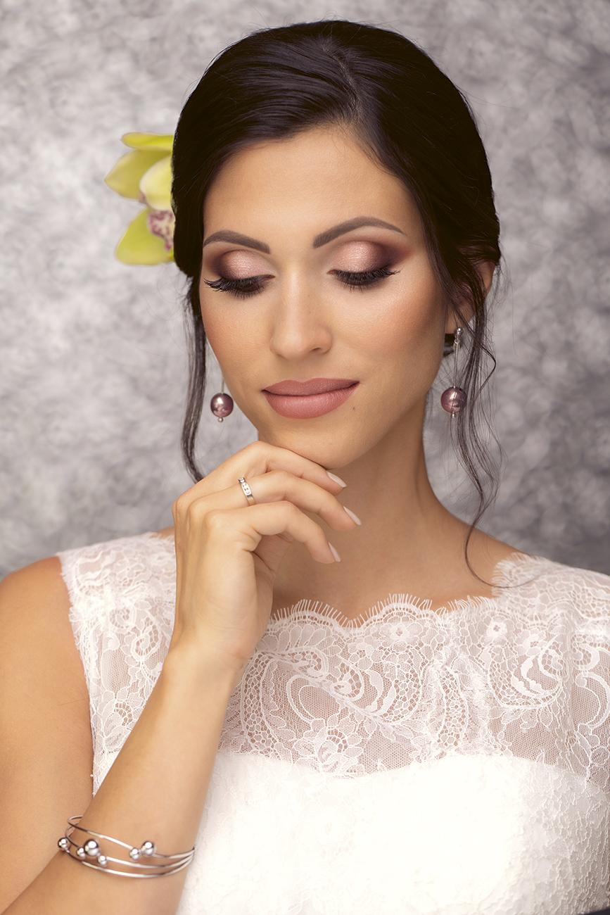 esküvői smink, Lenyűgöző esküvői smink ötletek barna hajú menyasszonyoknak