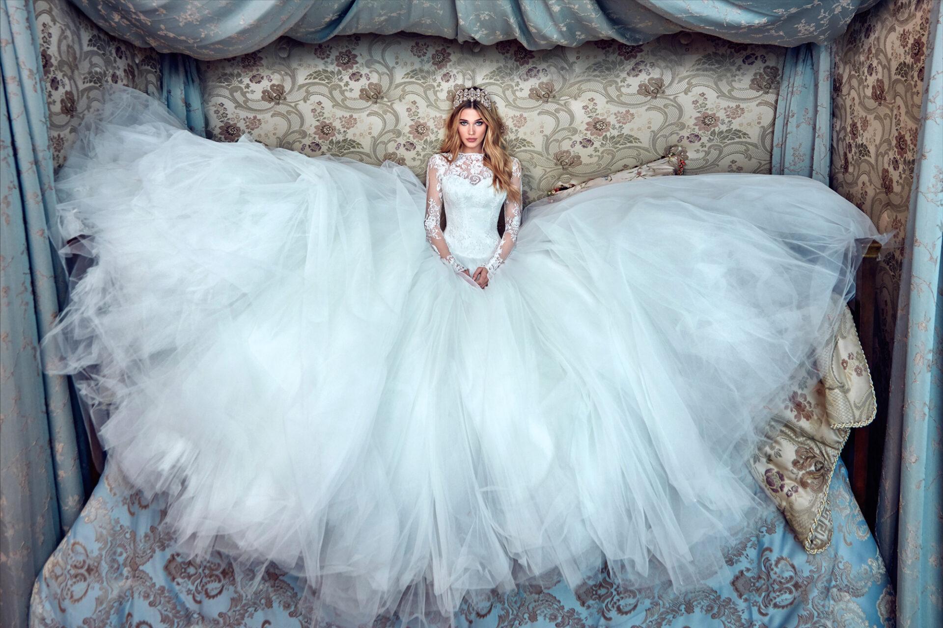Galia Lahav: hercegnős menyasszonyi ruha kollekció