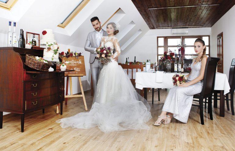 Hangulatos és egyedi  esküvő rusztikus pikantériával megfűszerezve ... 9264e26449