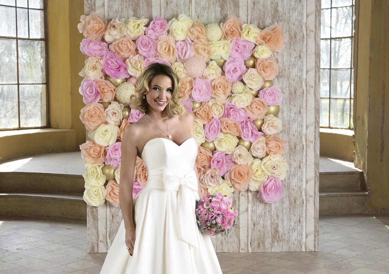 Zimány Linda menyasszonyi ruha, esküvői videó