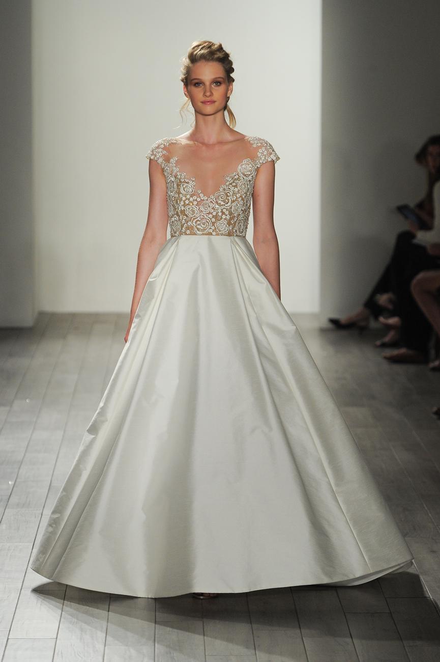 567f6a9bd8 ... színes menyasszonyi ruha Hayley Paige fehér menyasszonyi ruha ...