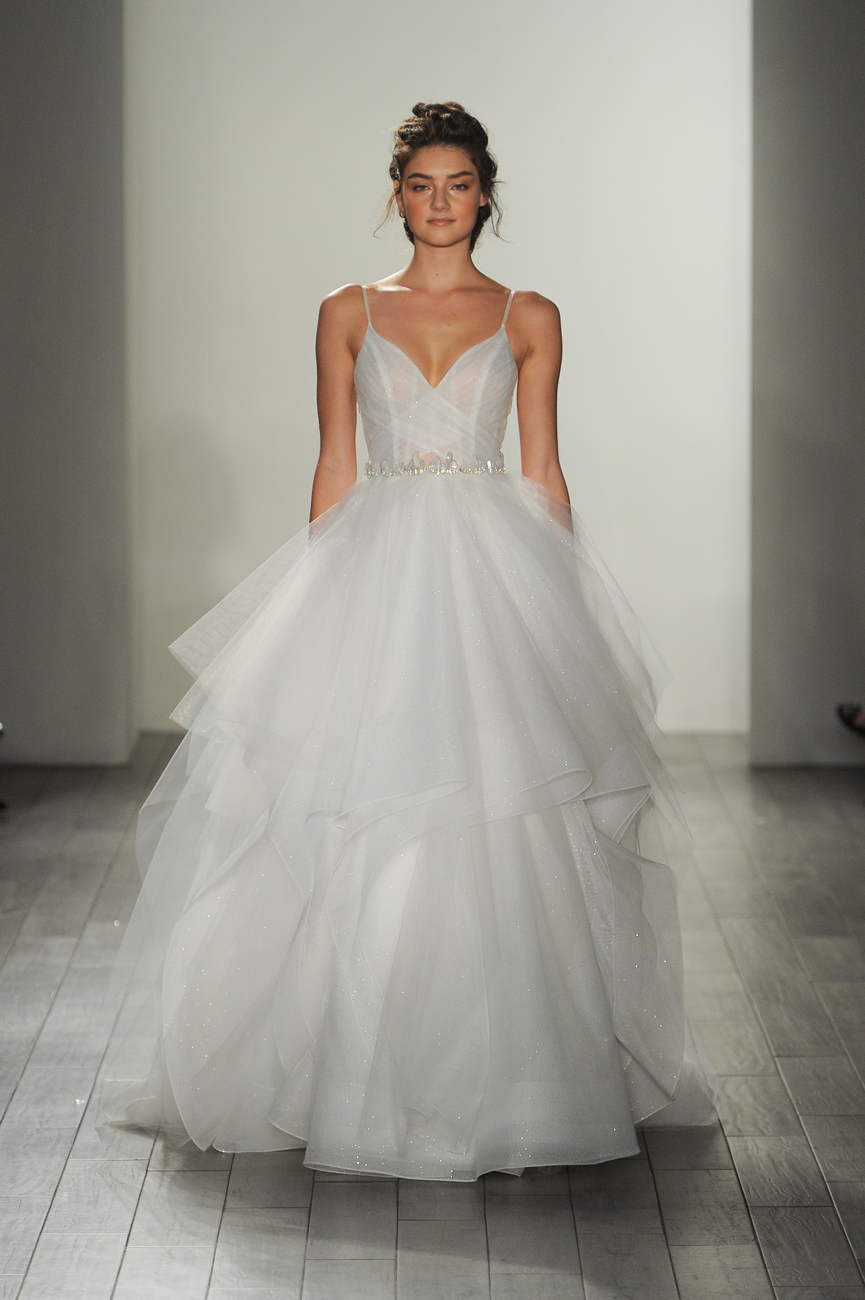 hayley paige fehér menyasszonyi ruha