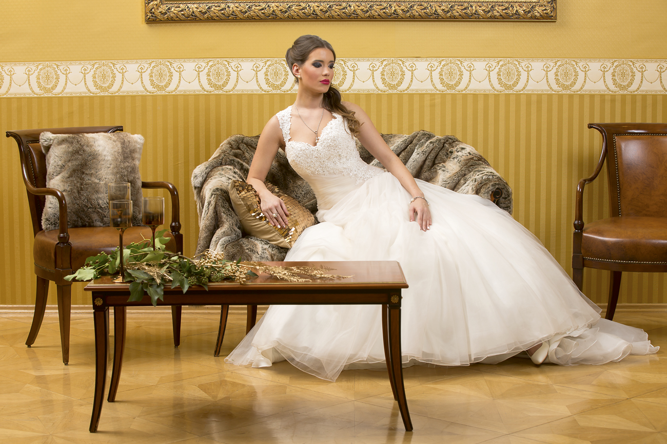 Esküvő a kastélyban, esküvői dekoráció