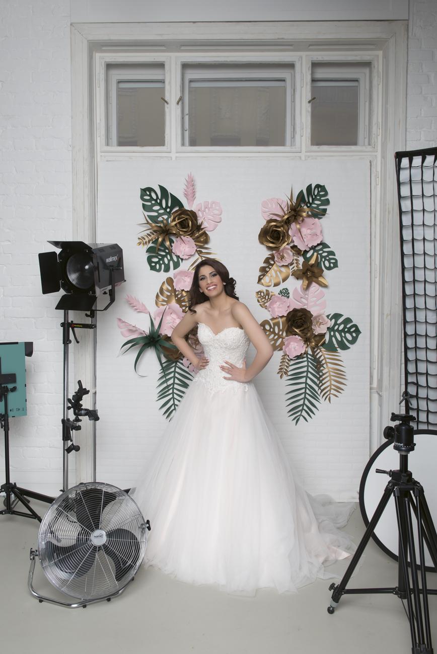 Radics Gigi esküvő, menyasszonyi ruha