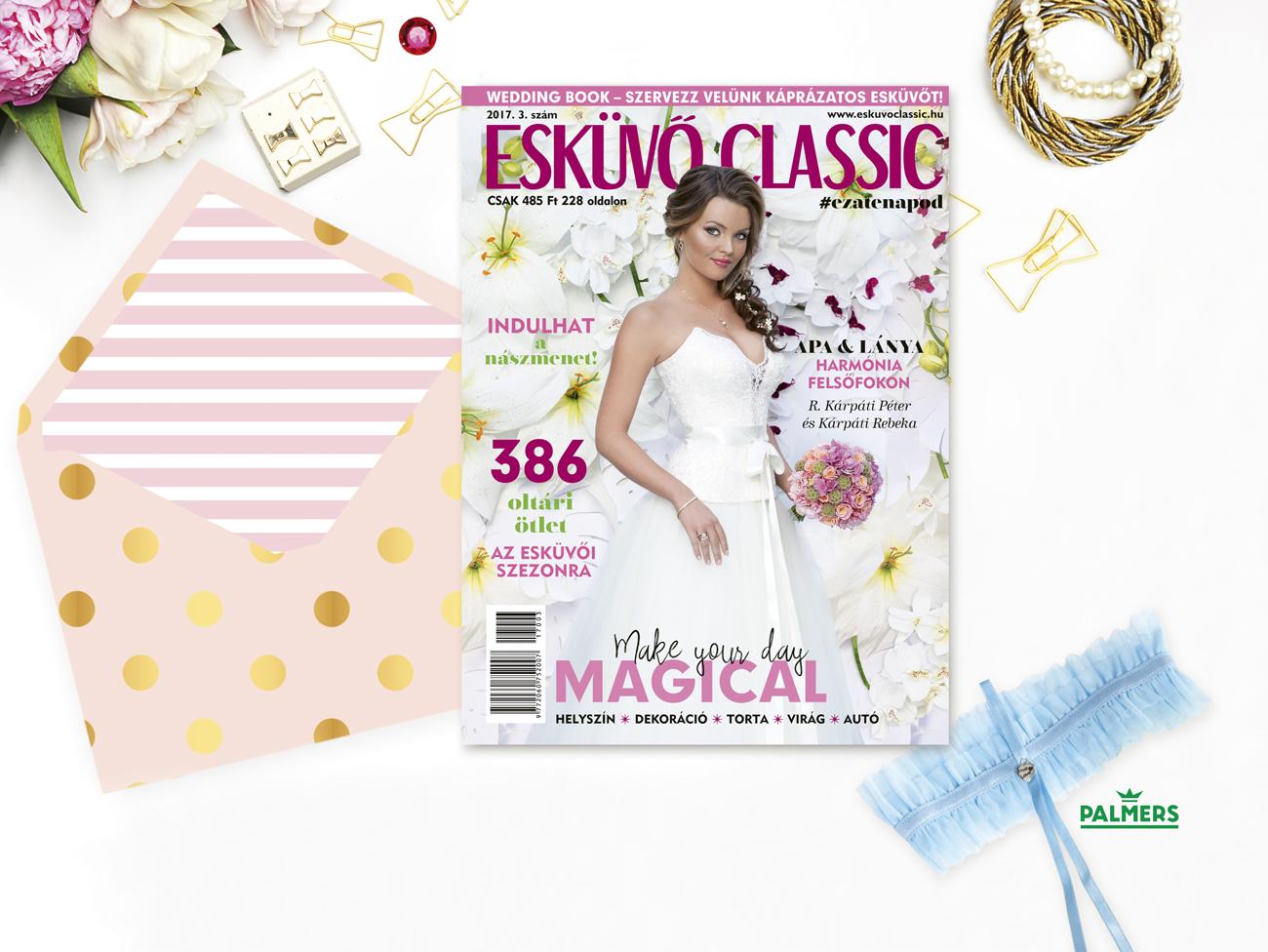 Esküvő Classic magazin, előfizetői akció