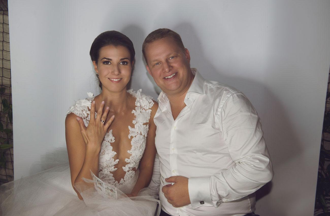 """esküvő, ,,Jó érzés, hogy ilyen férjem van"""" – Pillants be Makláry Dóri és Boross Dávid esküvőjébe"""