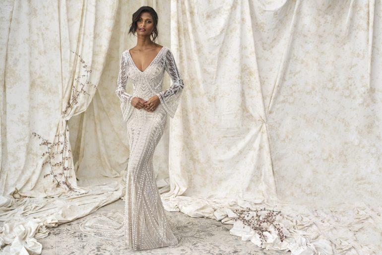 A modern és a vintage tökéletes elegye  Justin Alexander menyasszonyi ruhái  minden arát lenyűgöznek d02a51bf47