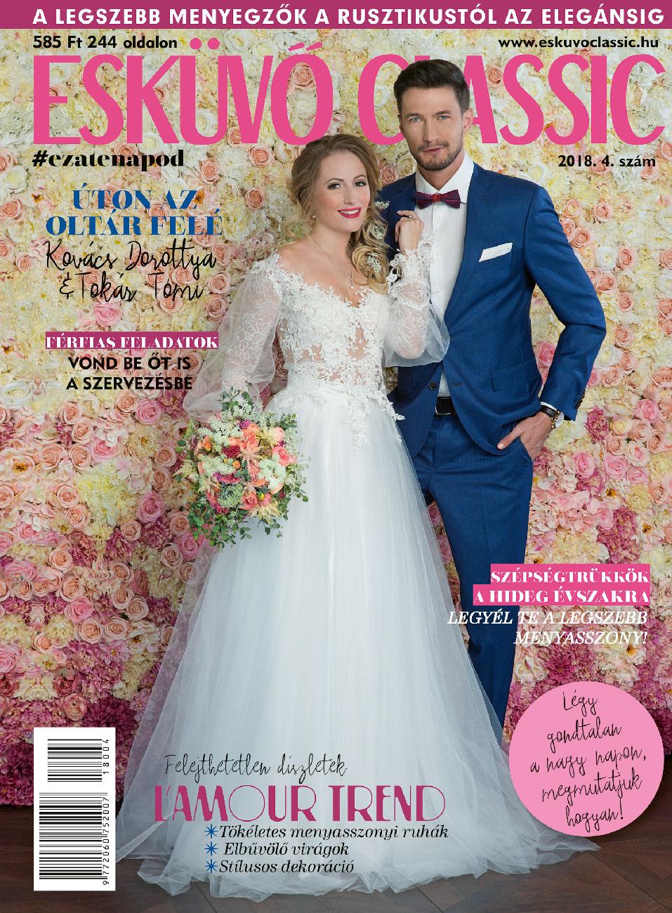 esküvő classic, Útmutató a tökéletes esküvőhöz – Az Esküvő Classic téli száma már az újságárusoknál