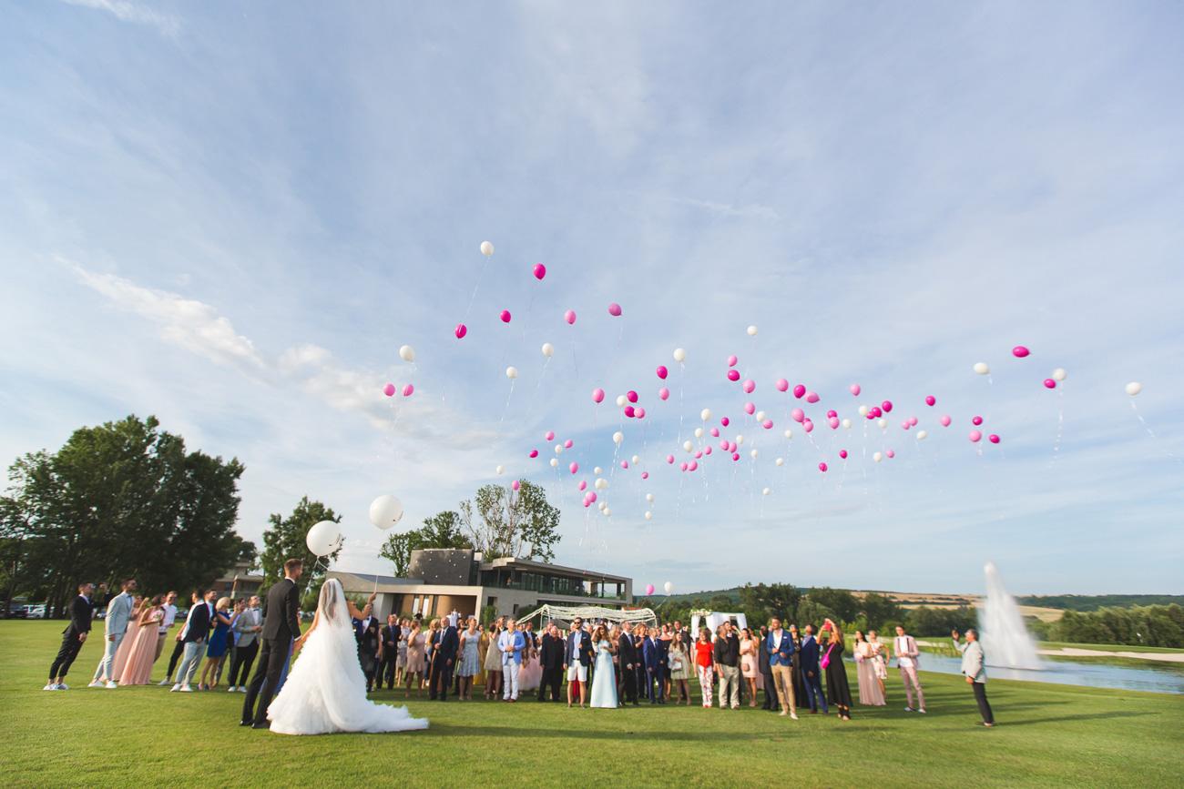 Sydney van den Bosch esküvő