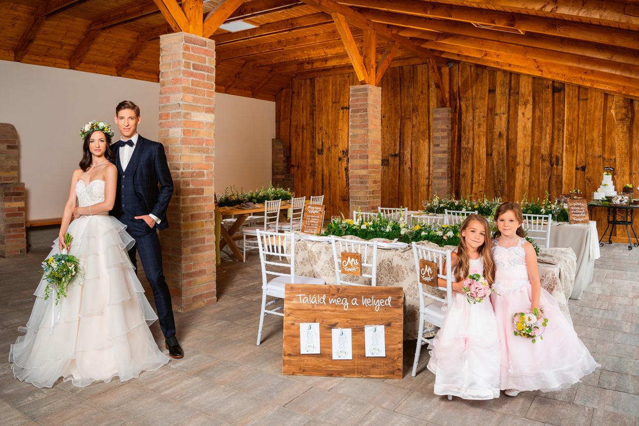 Felméry Lili és Balázs Gergő esküvője