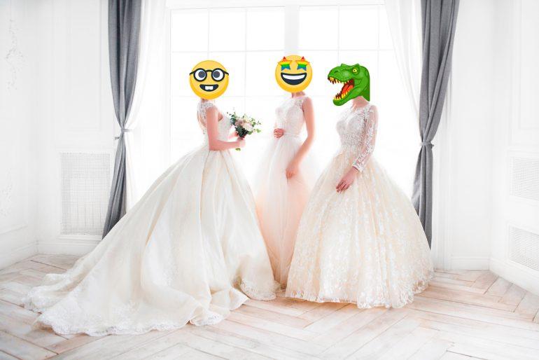 5ca3188969 Költekező, érzékeny vagy okos? – Most megtudhatod, melyik emoji tükrözi a  menyasszony éned!