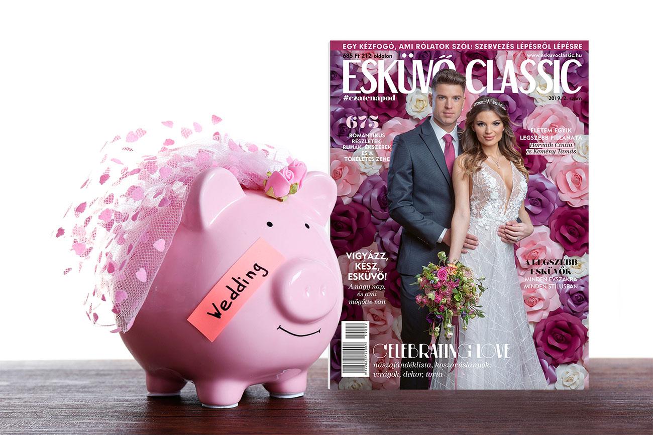 Esküvő Classic Magazin, spórolj, kupon napok, kupon