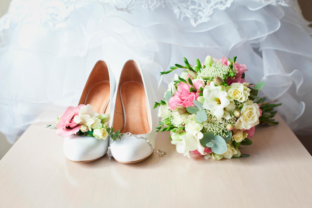 esküvői virágdekoráció, esküvői csokor