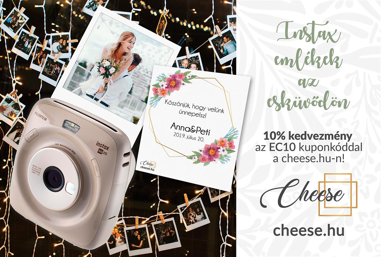 Cheese - Instax fényképezőgép bérlés