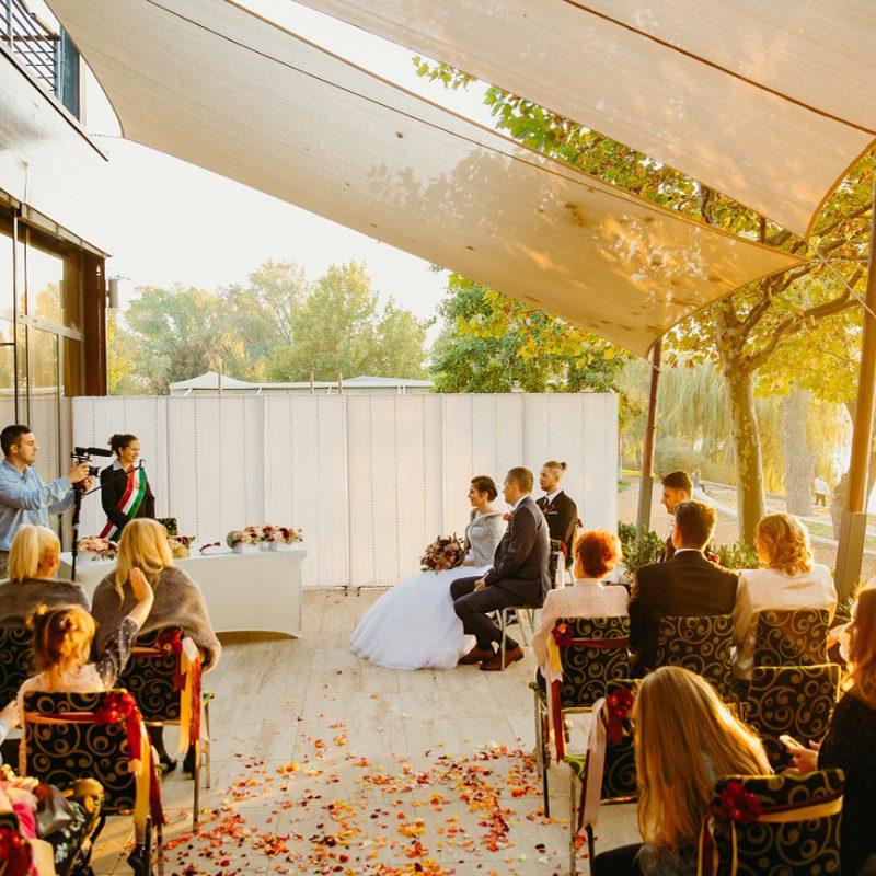 ÖbölHáz / Esküvői helyszín a Kopaszi-gáton