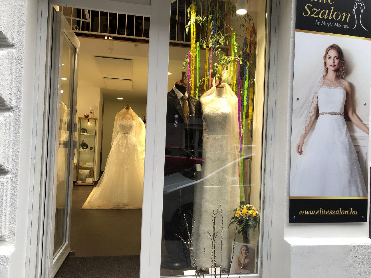 Elite Esküvői Ruhaszalon - 25 év, 25% kedvezmény - Kedvezményes menyasszonyi ruha
