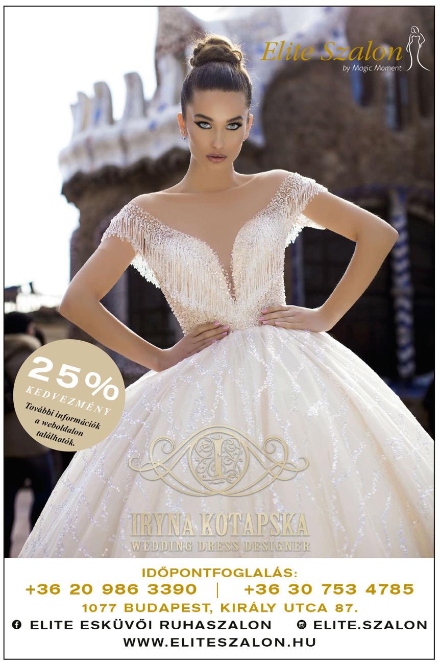 menyasszonyi ruha akció, akciós menyasszonyi ruha, kedvezményes menyasszonyi ruha, esküvői ruhaszalon, Elite esküvői ruhaszalon, 25% kedvezmény, kupon