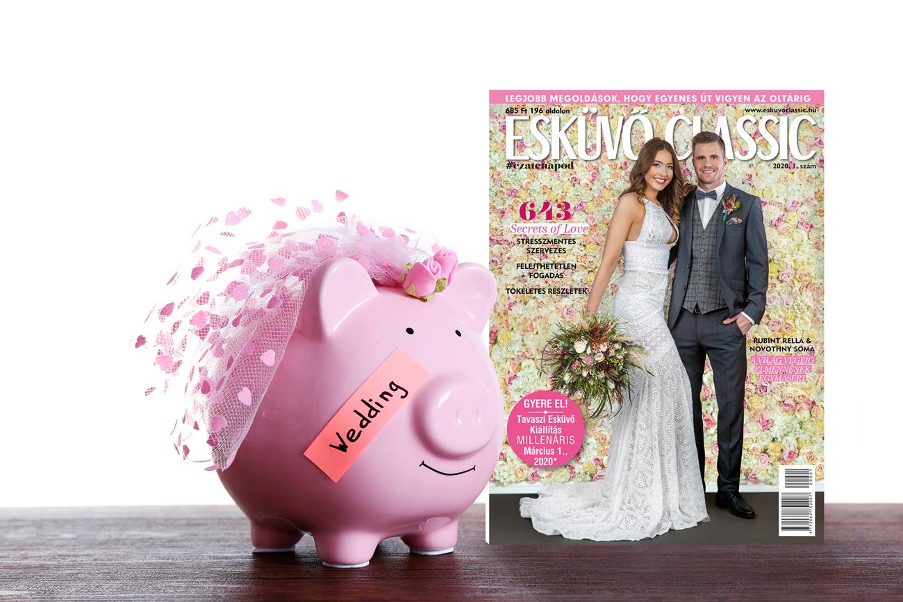 Esküvő Classic magazin - esküvői magazin, esküvő magazin - esküvői kupon, akció, akciós menyasszonyi ruha, akciós karikagyűrű