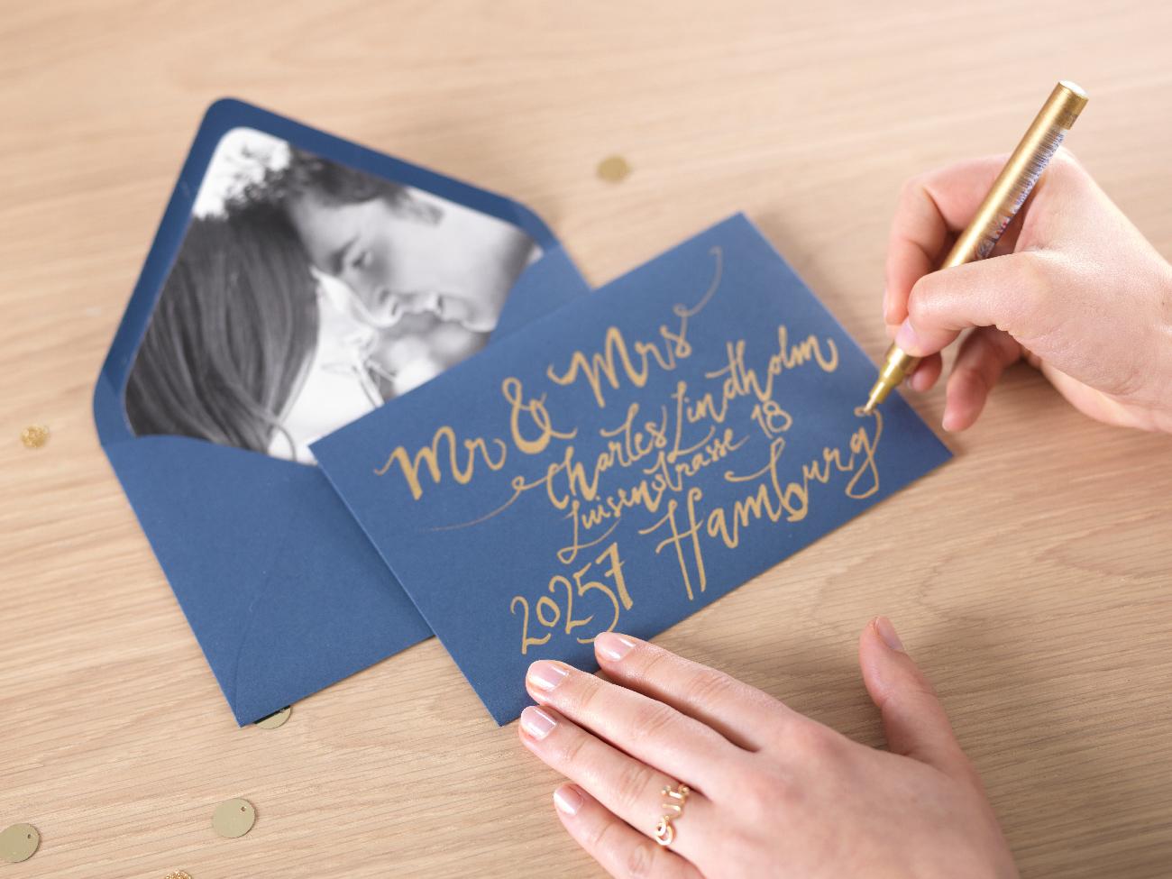 CEWE DIY esküvői meghívó
