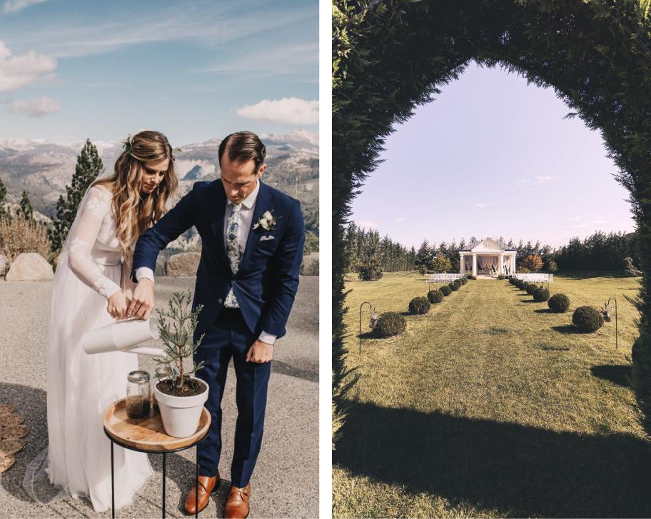 eco wedding, ECO WEDDING 2020 – Legyen környezetbarát esküvőd a Le Til Kúria falai között, csapj le a húsz időpont egyikére!