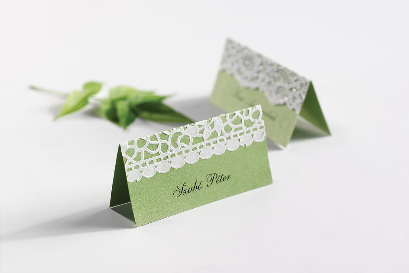 esküvői meghívó, Készítsd el otthon – Csipkés esküvői meghívó és a hozzáillő papírdekorációk