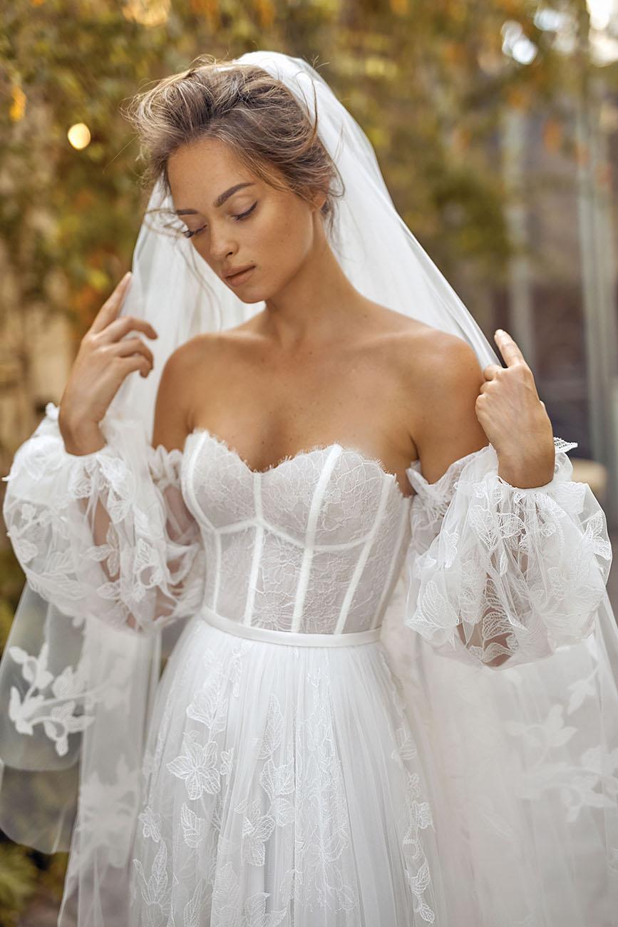 Lihi Hod, Akár egy frissítő fuvallat – Megérkezett Lihi Hod őszi menyasszonyi ruha kollekciója, ami a White Blossom nevet viseli