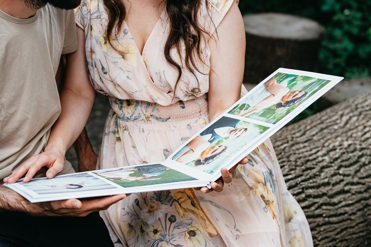 fotókönyv, Esküvői DIY: Készítsd el saját kezűleg, Dávid segítségével – Egy elegáns esküvői fotókönyv a CEWE-től, amit könnyedén elkészíthetsz te is