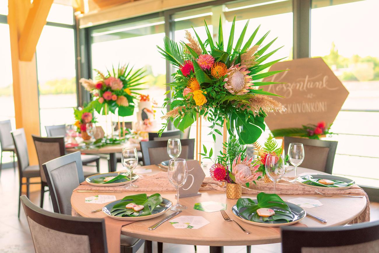 esküvői dekorációs stílus, Így terítsd az asztalod az esküvői vacsorán: Hét izgalmas és elegáns esküvői dekorációs stílus, amik 2021-ben is velünk maradnak
