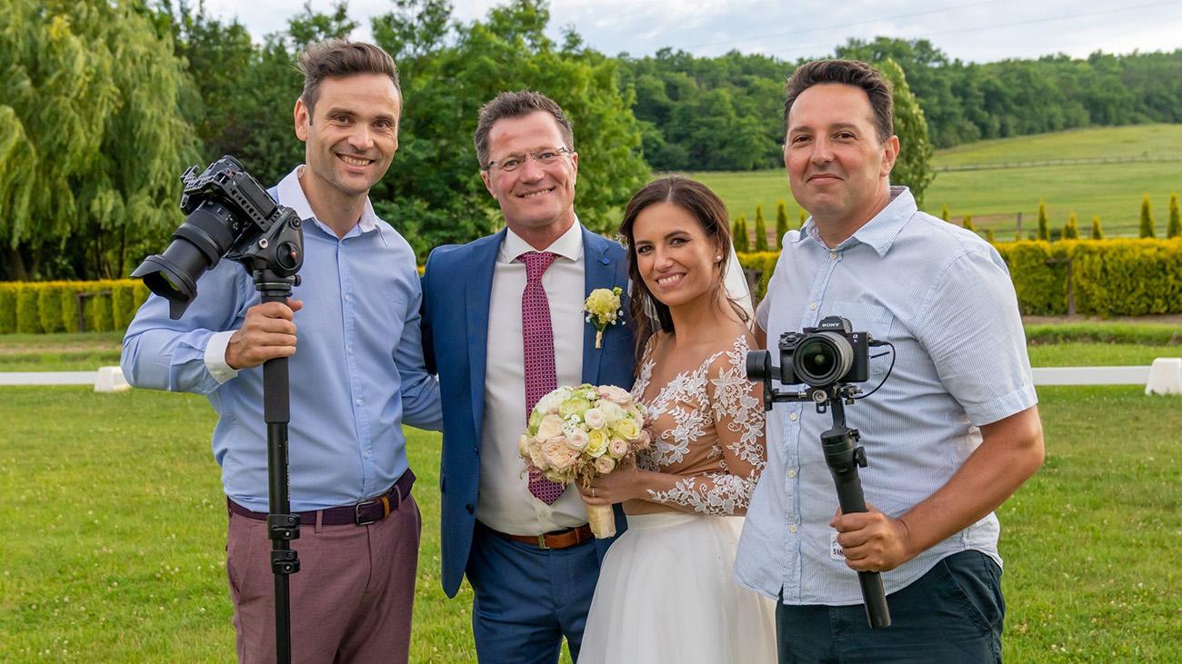 esküvői cinematográfia, Esküvői cinematogriáfia a természetesség jegyében – A Wedding Movies szolgáltatásai már a hazai hírességeket is lenyűgözik