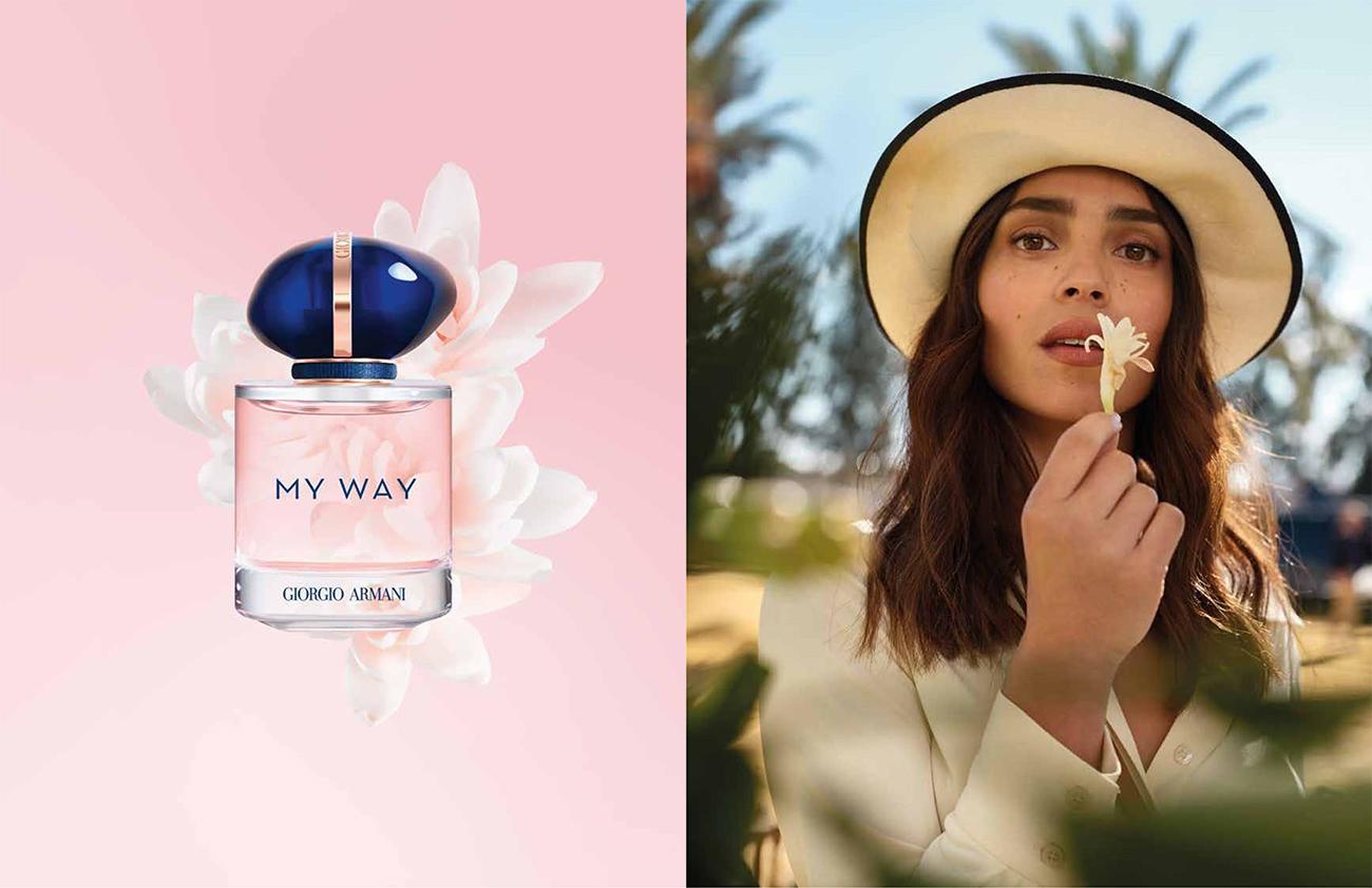 parfüm, Fenntartható parfüm újdonság: ARMANI MY WAY – Az én utam, az én történetem