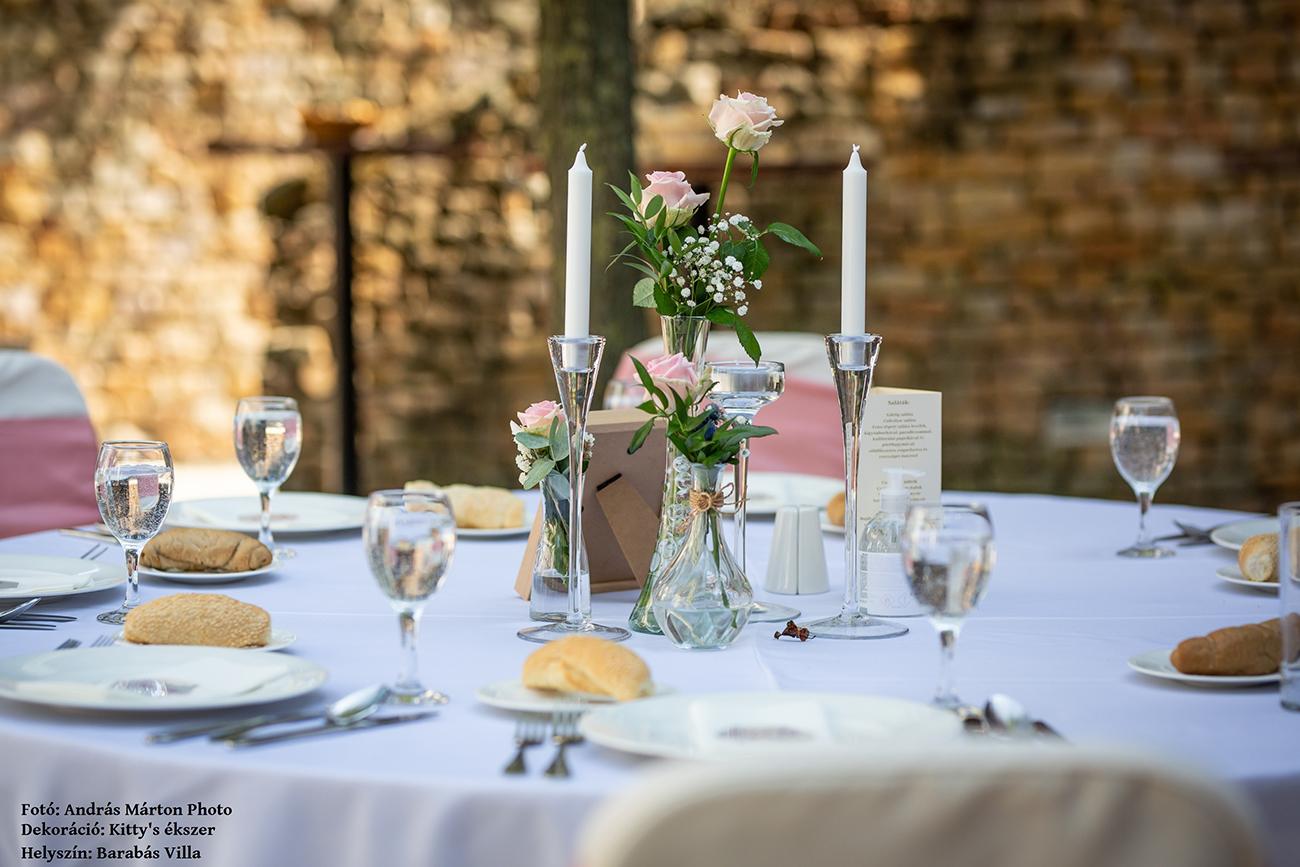 esküvői dekoráció, Esküvőszervezés és esküvői dekoráció egy helyen – A Kitty's ékszer vallja, hogy a nagy nap ékét a tökéletes dekor adja