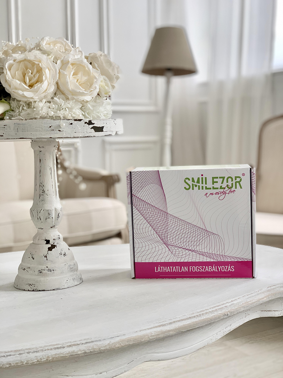 fogszabályozó, Ragyogó mosollyal az oltárnál – A SMILEZOR láthatatlan fogszabályozó rövid idő alatt segít a rendezett fogsor elérésében